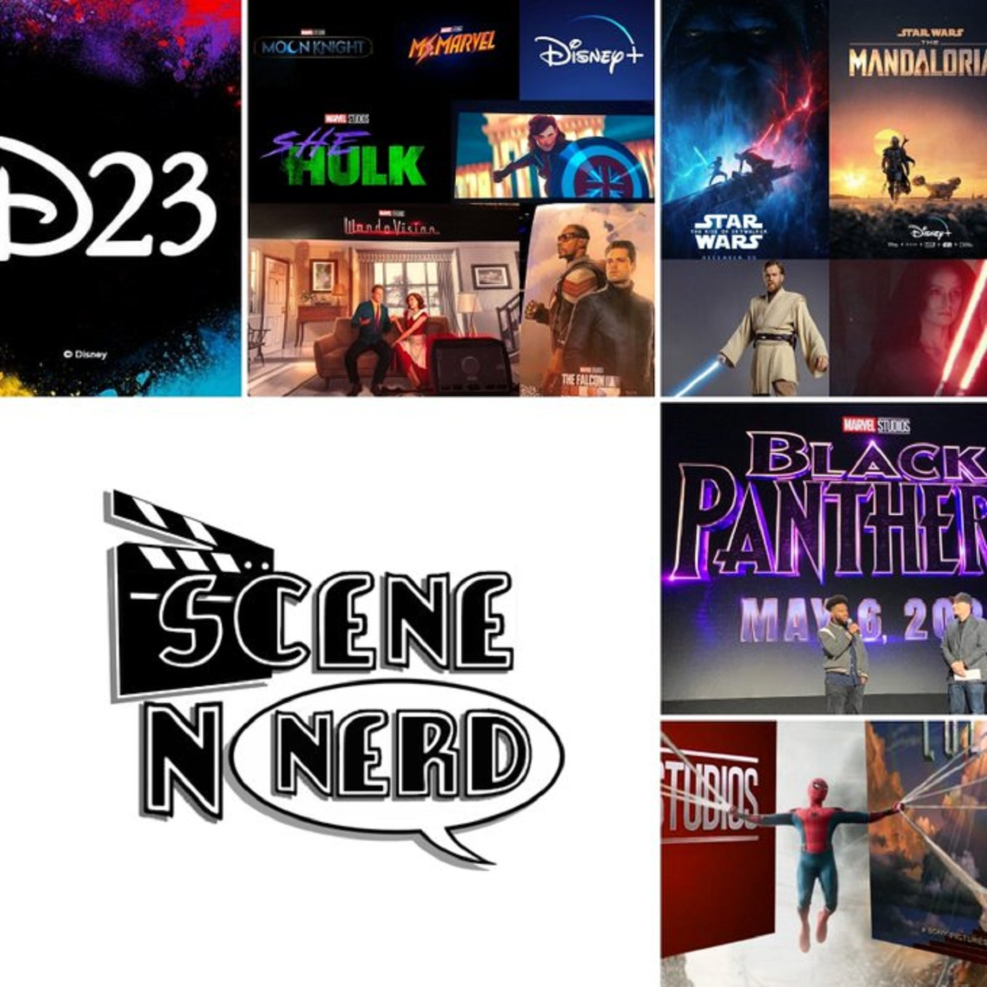 GVN Presents: Scene N Nerd - News from the #D23Expo and the Spidey Divorce