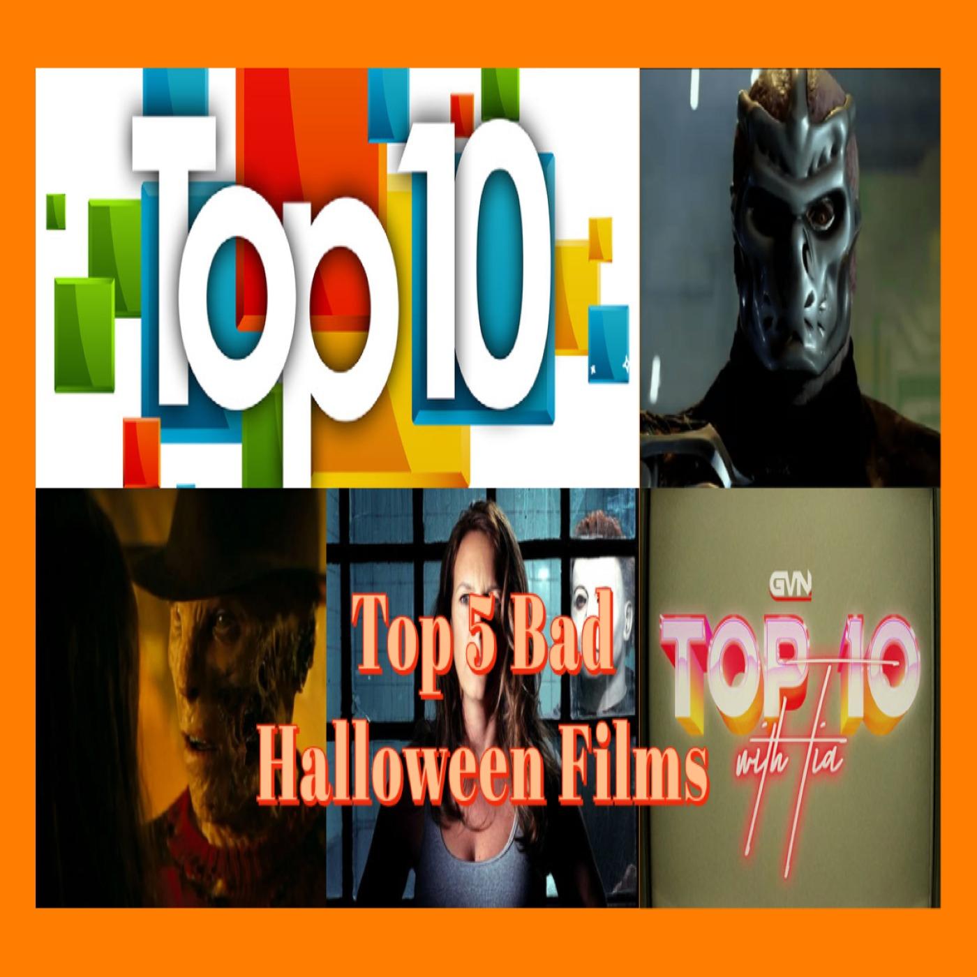 Top 5 Bad Halloween Films