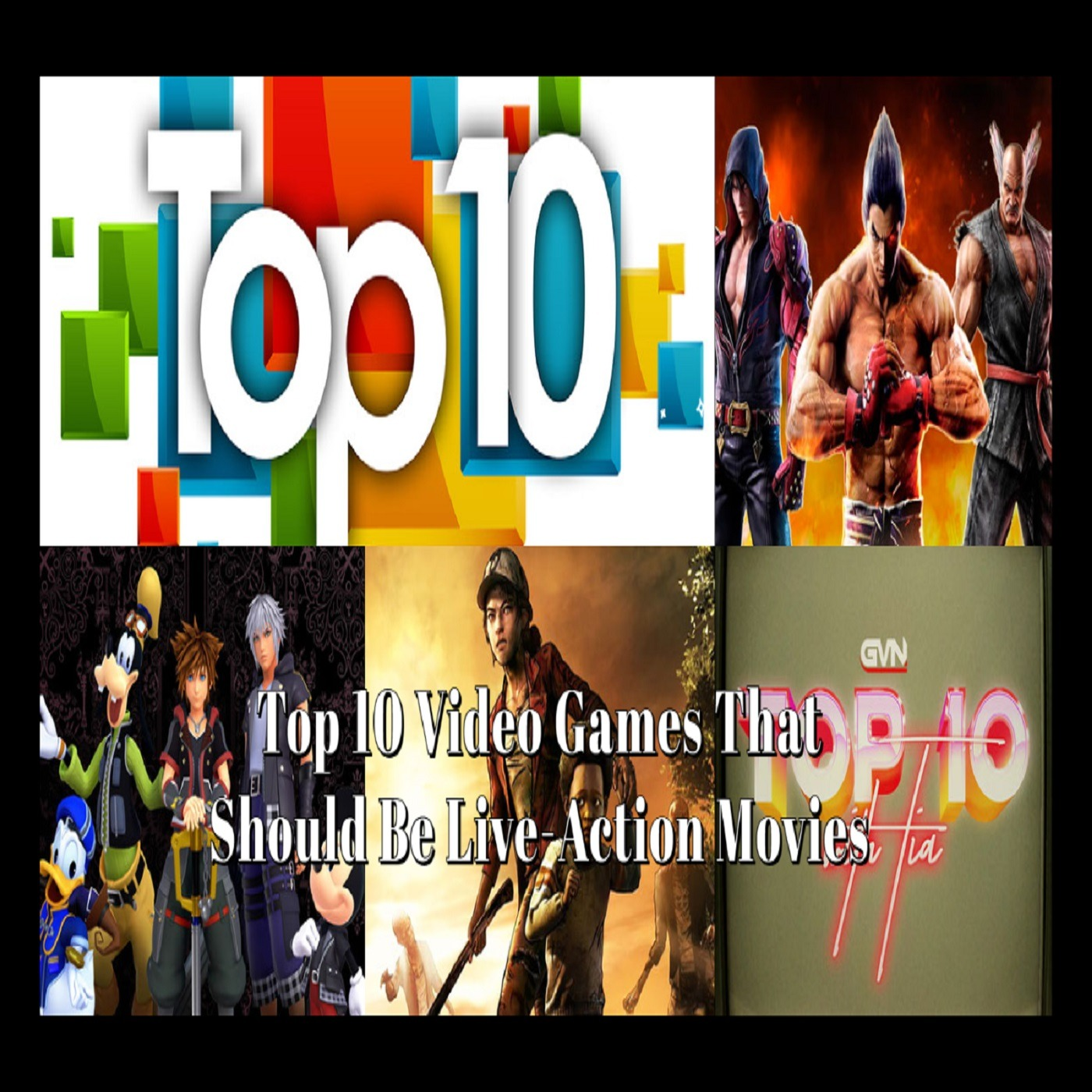 Top 10 Video Games That Should Be Live Action Movies