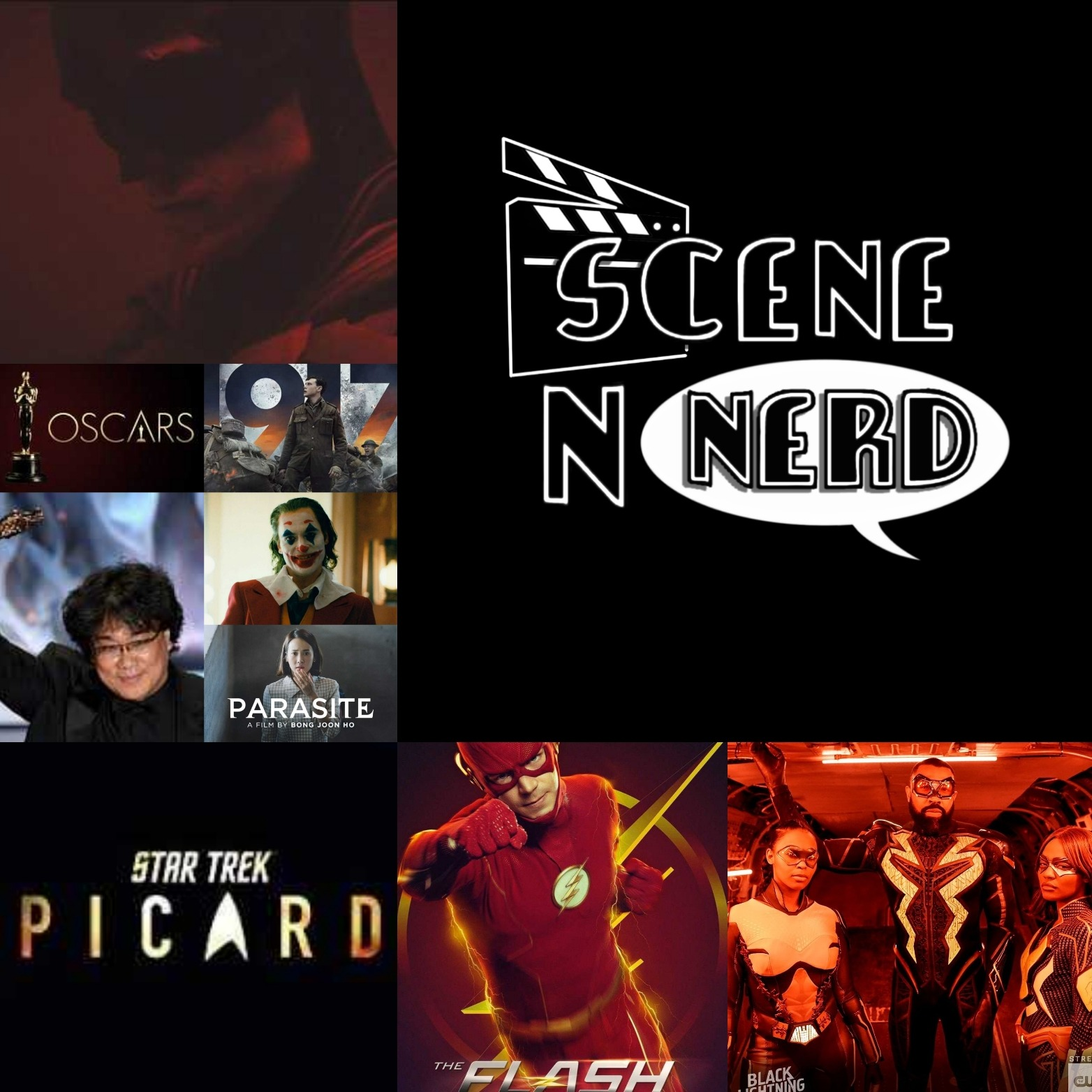 GVN Presents: Scene N Nerd - The Flash & 1917 who? Picard & Parasite Sweeps the Oscars