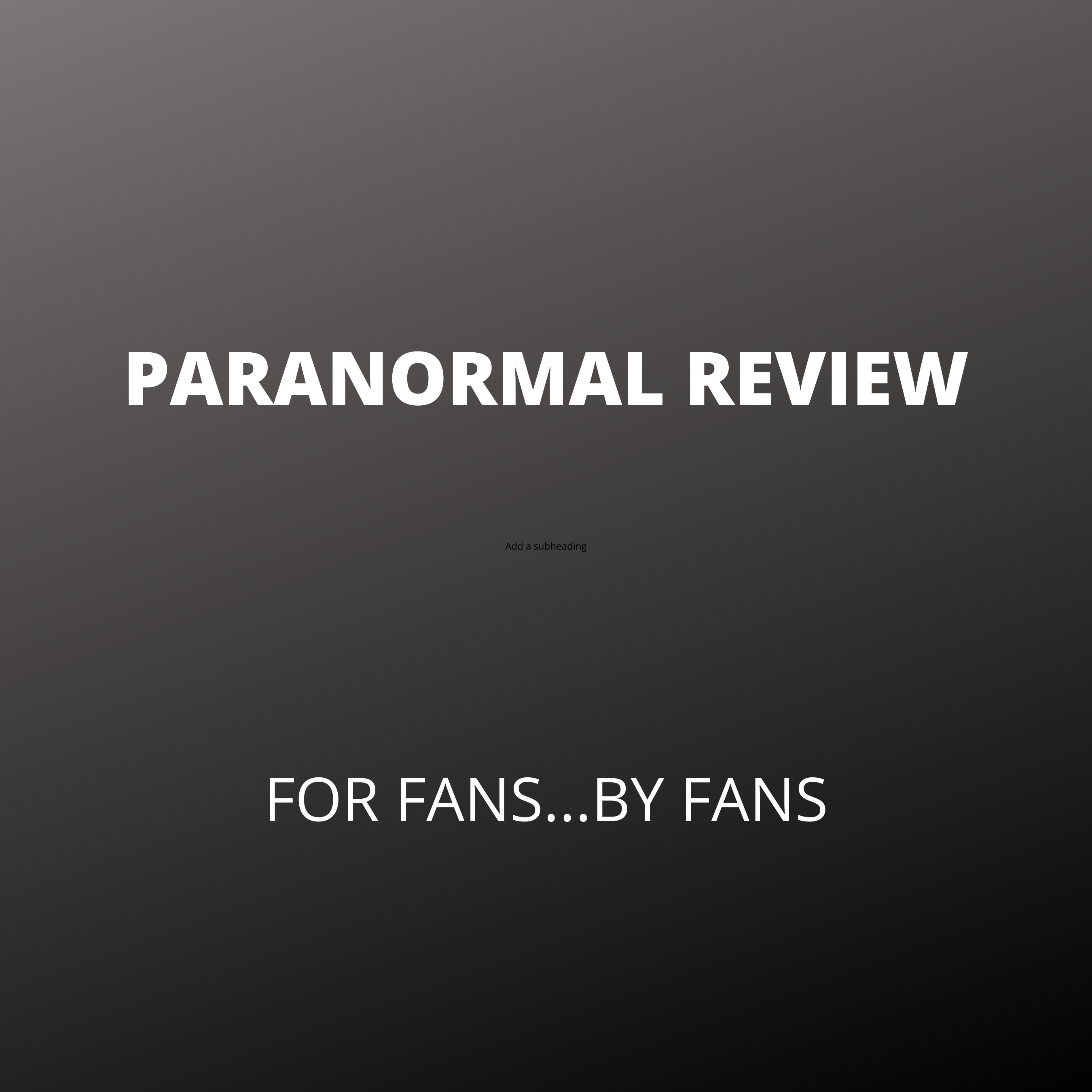 Review Of Ghost Adventures Halloween Special 2020 Paranormal Review – Podcast – Podtail