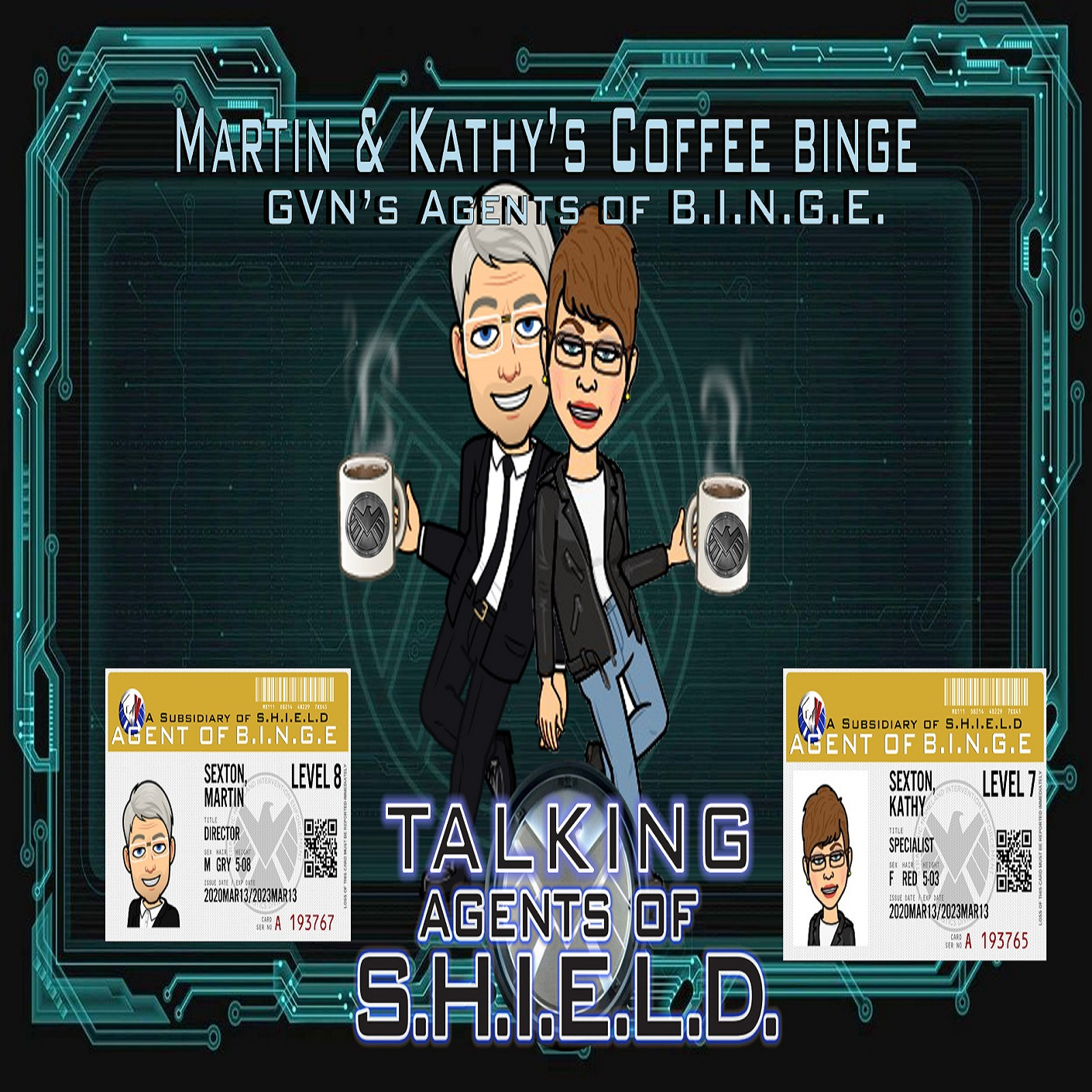 Martin & Kathy's Coffee Binge - Marvel's Agents of Shield
