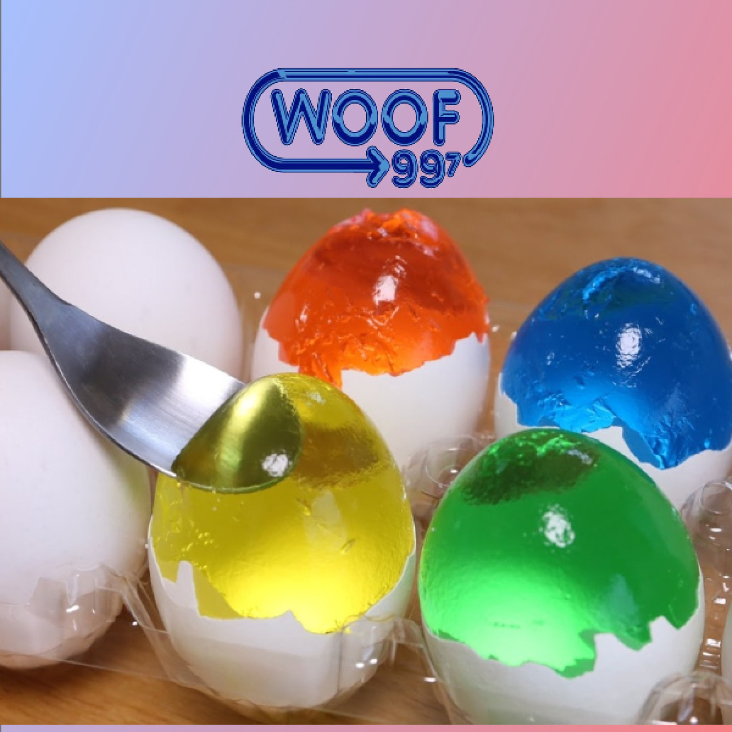 Try Jello Eggs this Easter!