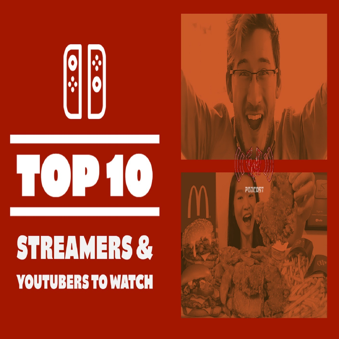 Top 10 Streamers & YouTubers To Watch