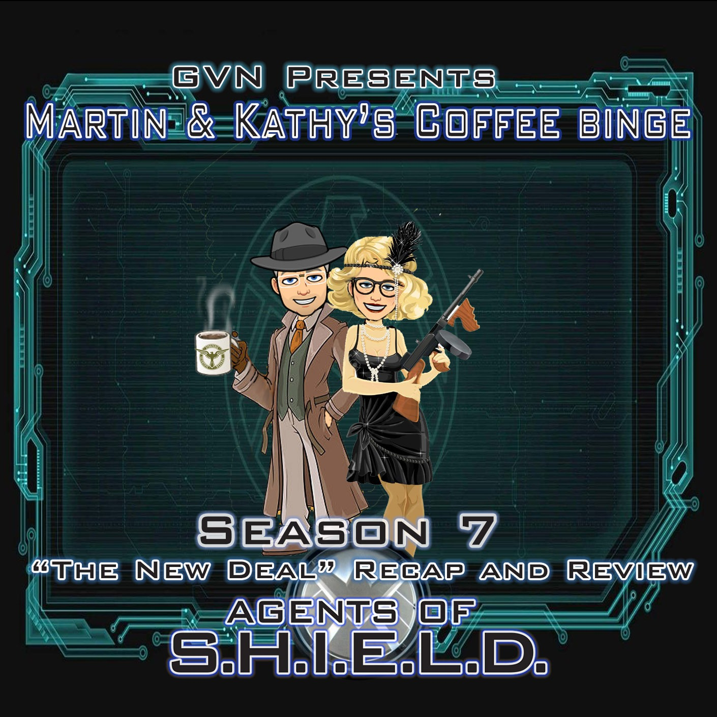 GVN Presents: Martin & Kathy's Coffee Binge - Agents of SHIELD