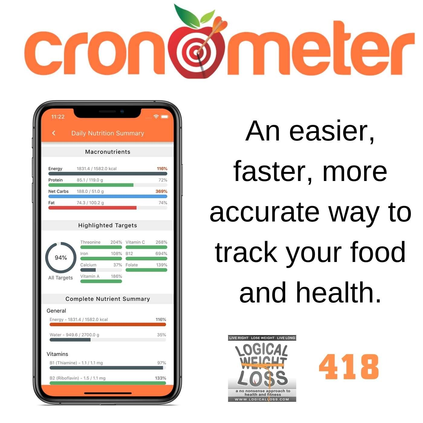 Cronometer: An Easier, Faster, More Accurate Way to Track Your Health Image