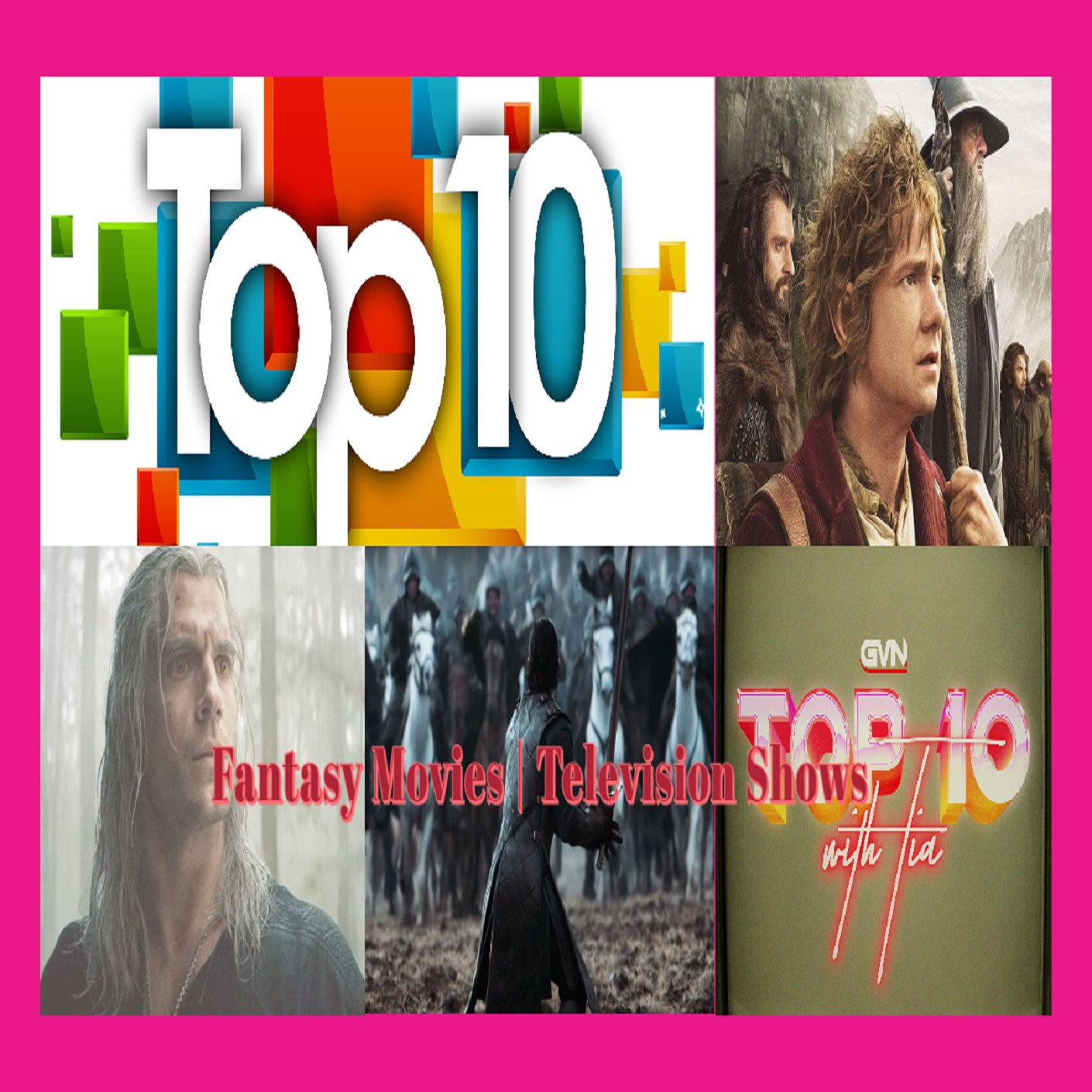 Top 10 Best Fantasy Movies & Television Shows