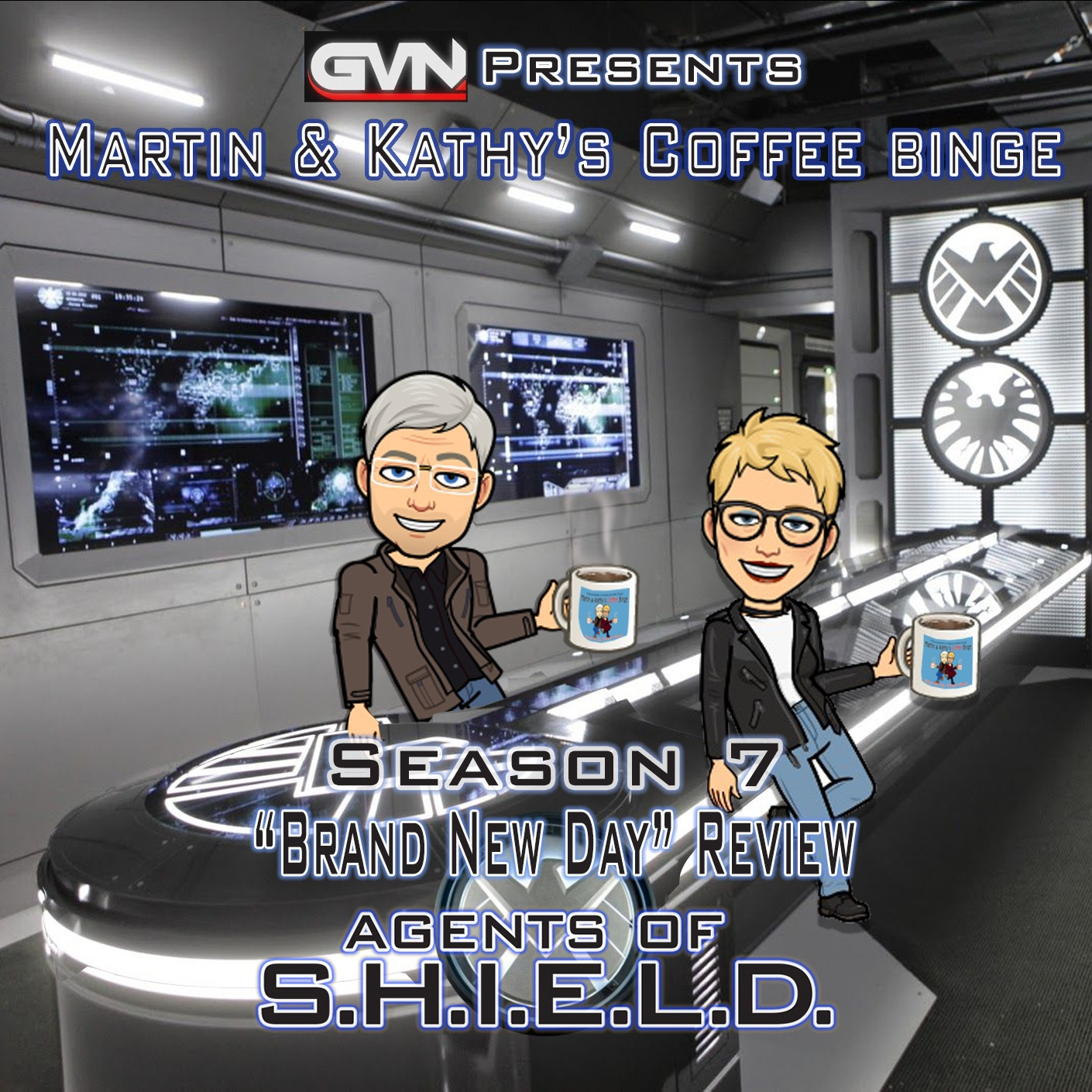"""Martin & Kathy's Coffee Binge - Marvel's Agents of Shield """"A Brand New Day"""" Review"""