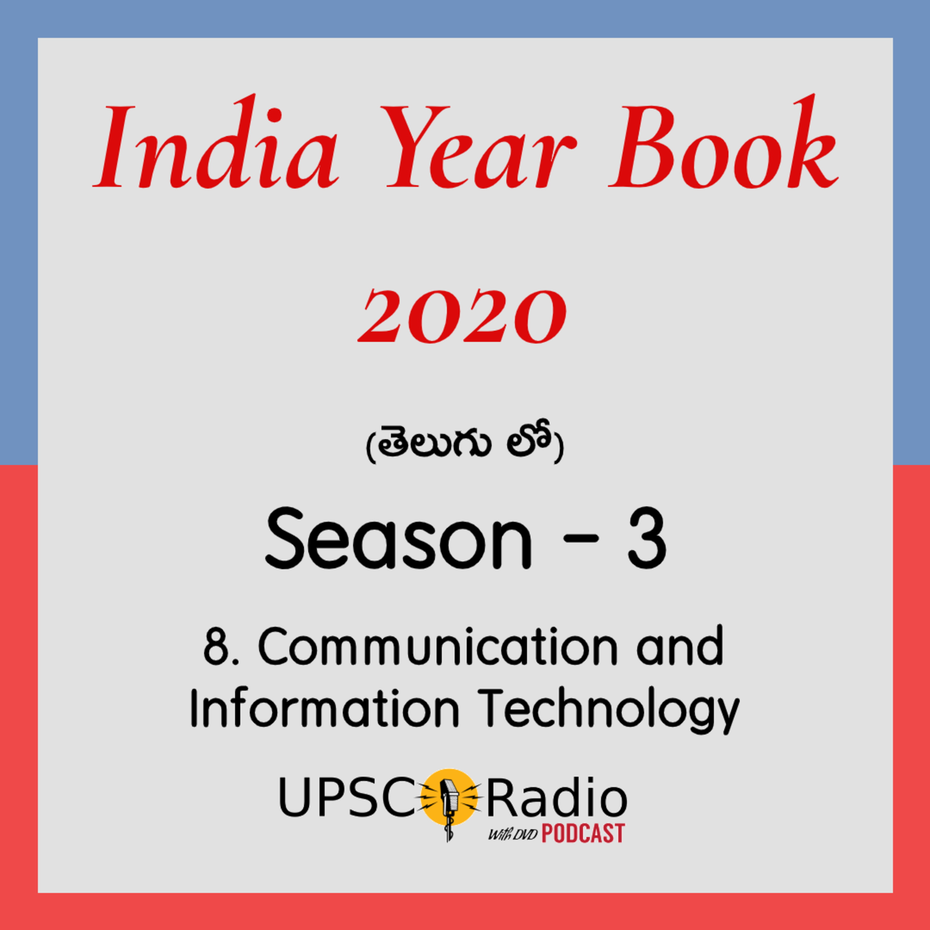 S3: CH:8 Communication || INDIA YEAR BOOK 2020