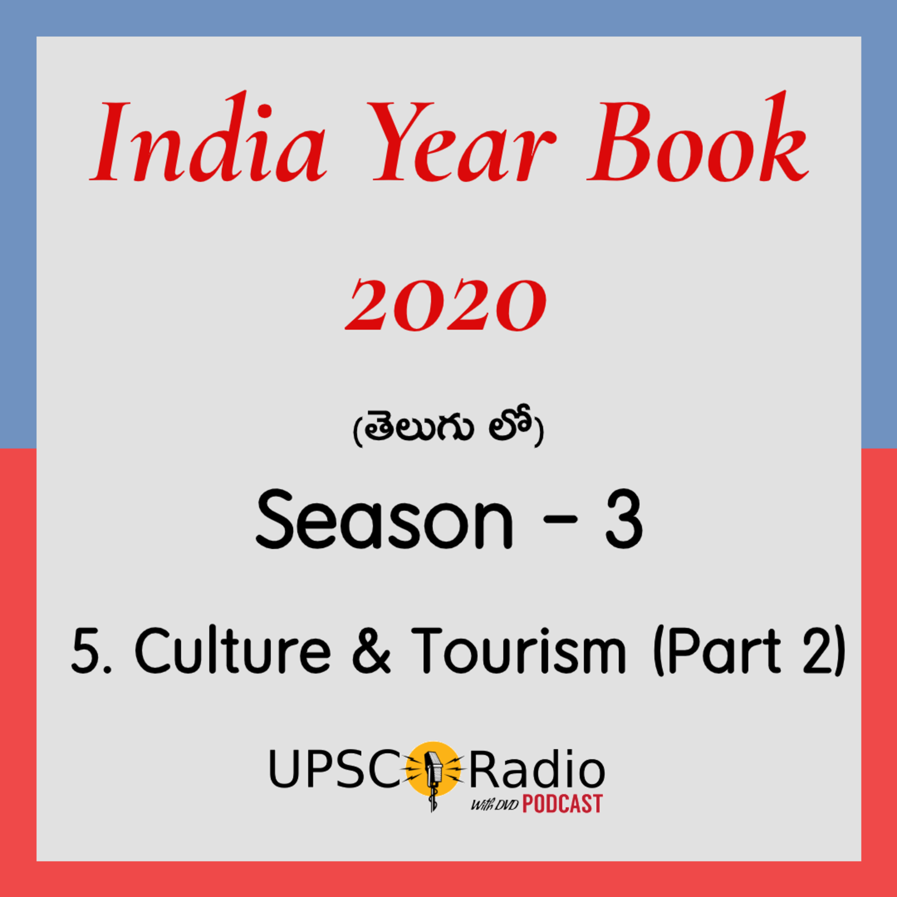 S3: CH:5 Culture and Tourism (Part 2) || INDIA YEAR BOOK 2020