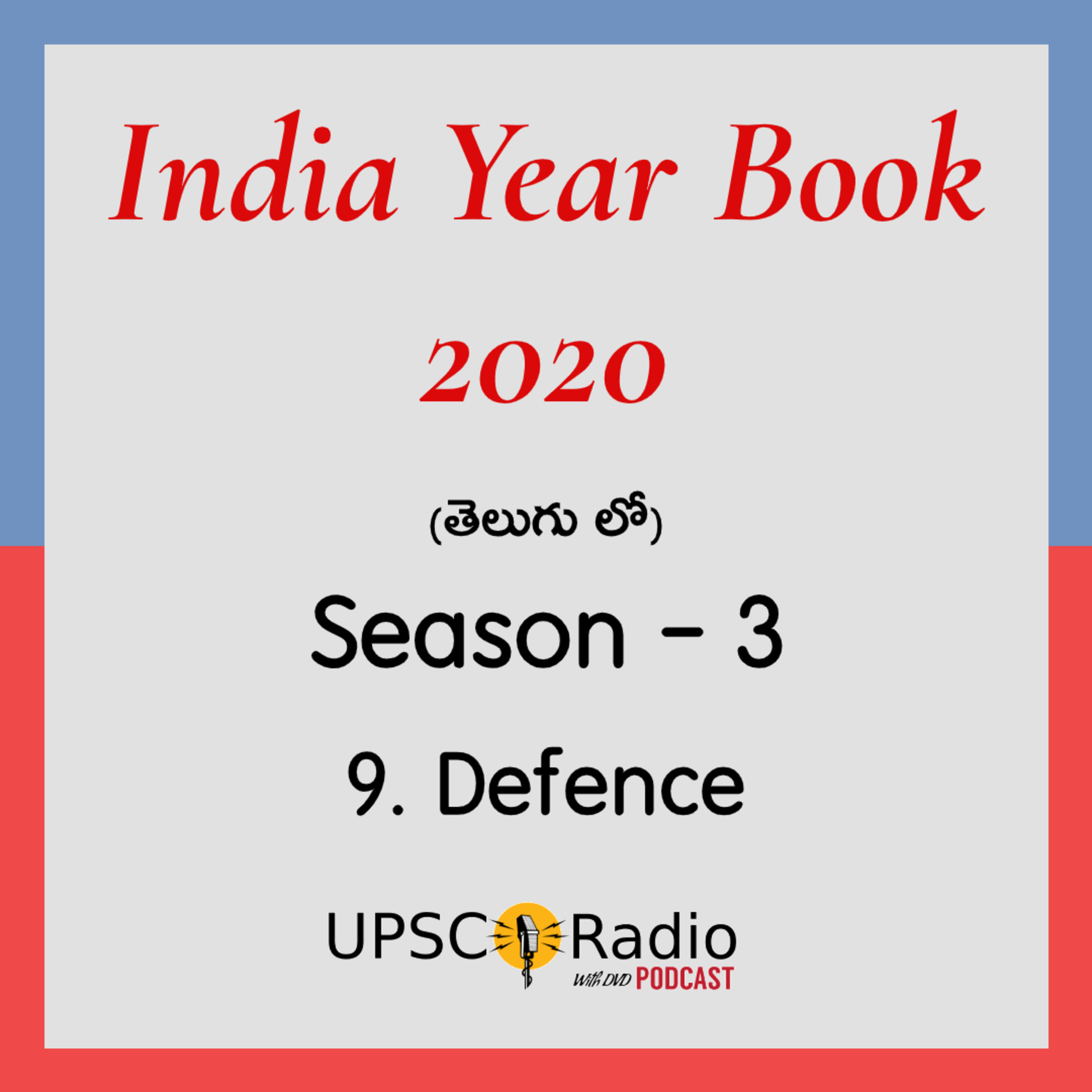 S3: CH:9 Defence (Part 1) || INDIA YEAR BOOK 2020