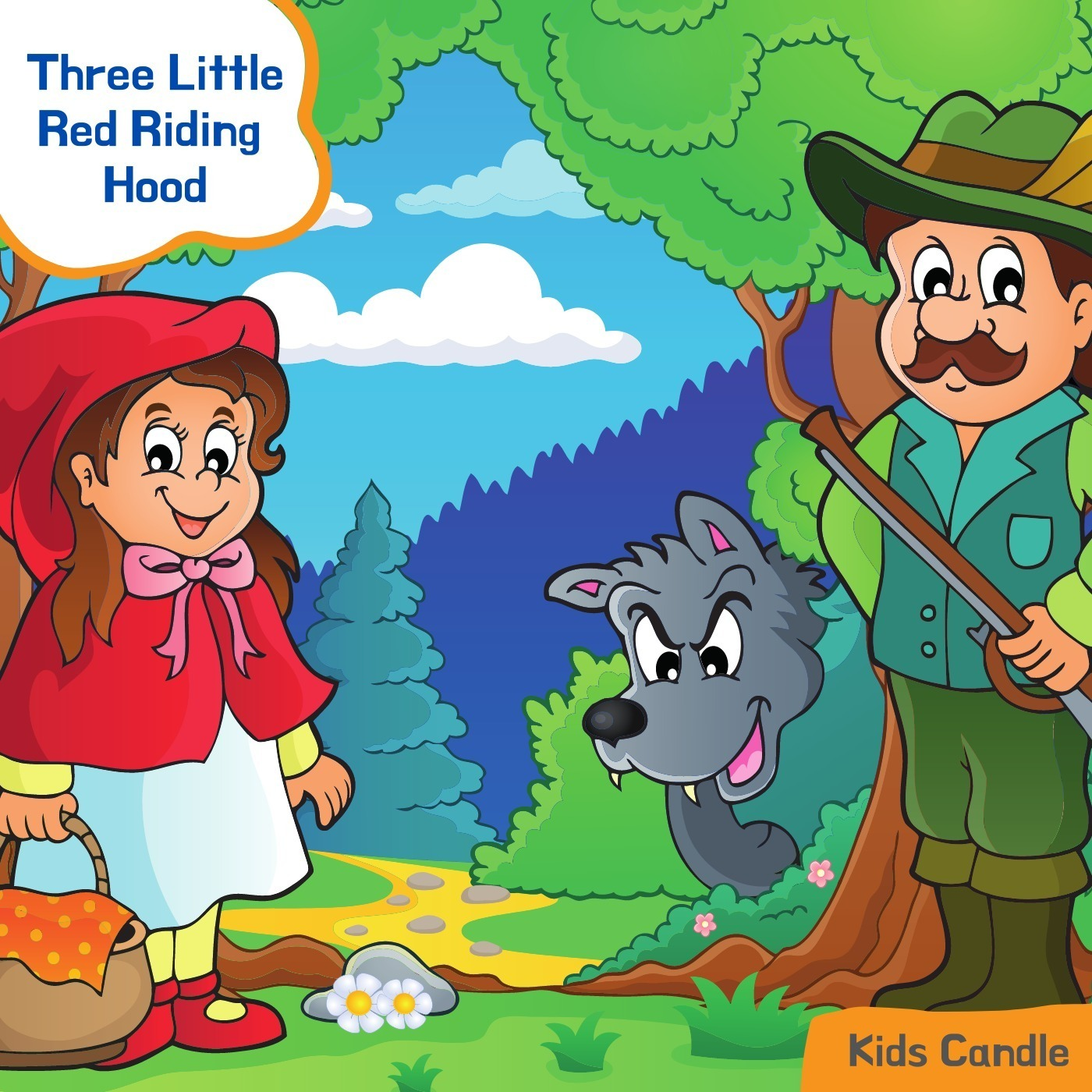 Popular Story of The Little Red Riding Hood