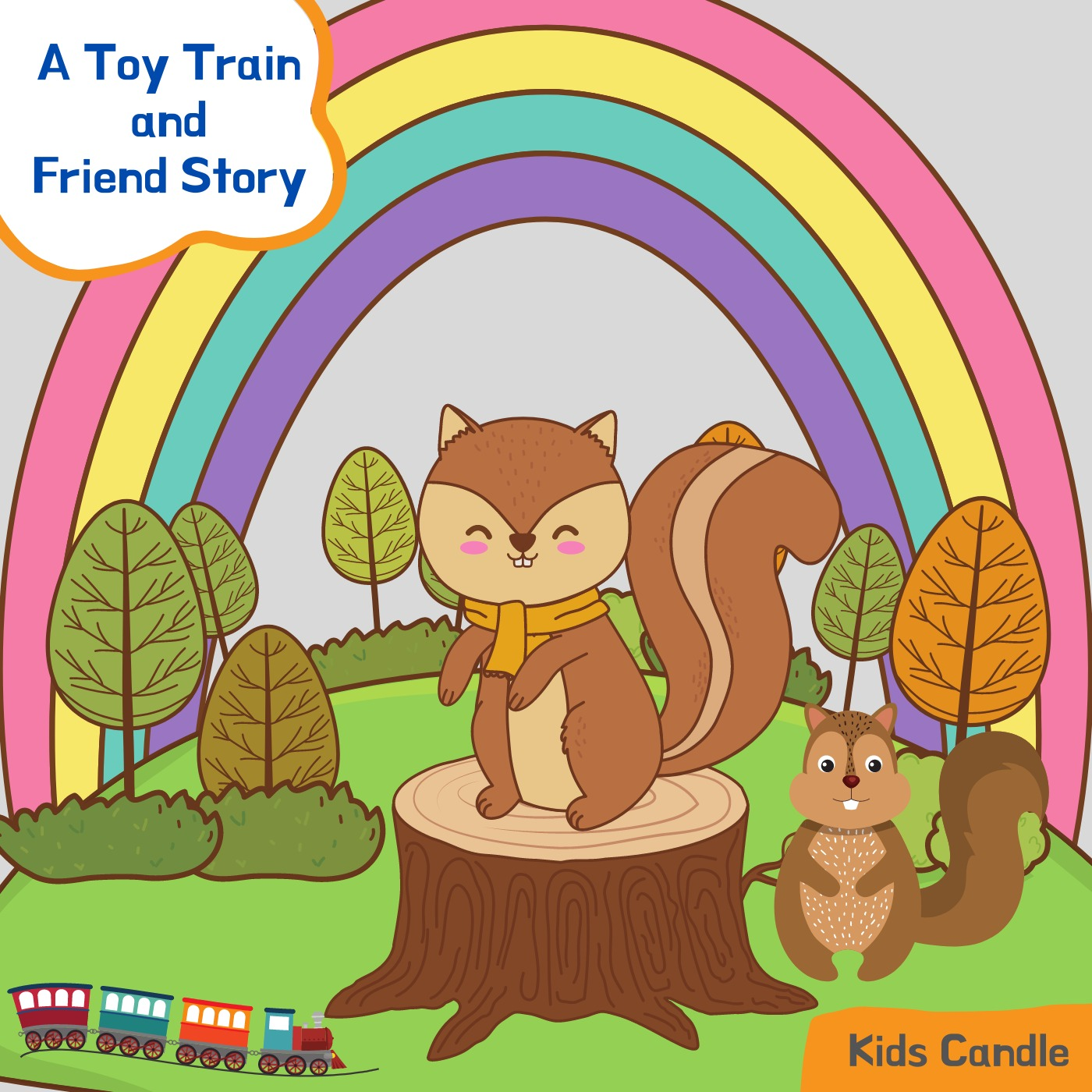 A Toy Train and Friends Story