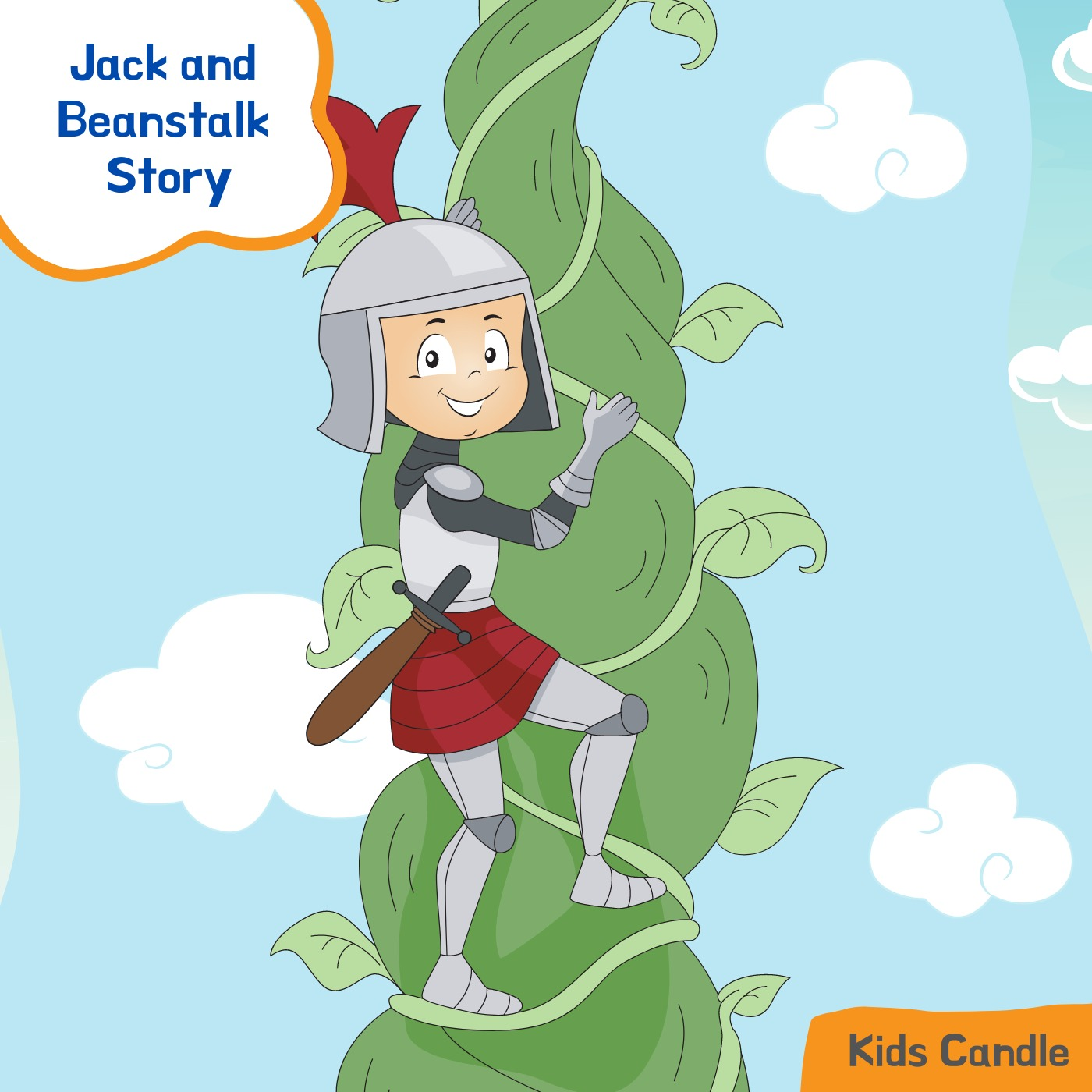 Classic story of Jack and Beanstalk