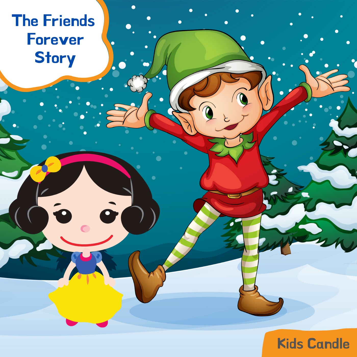 Snow White and Seven Dwarfs: The Friends Forever Story