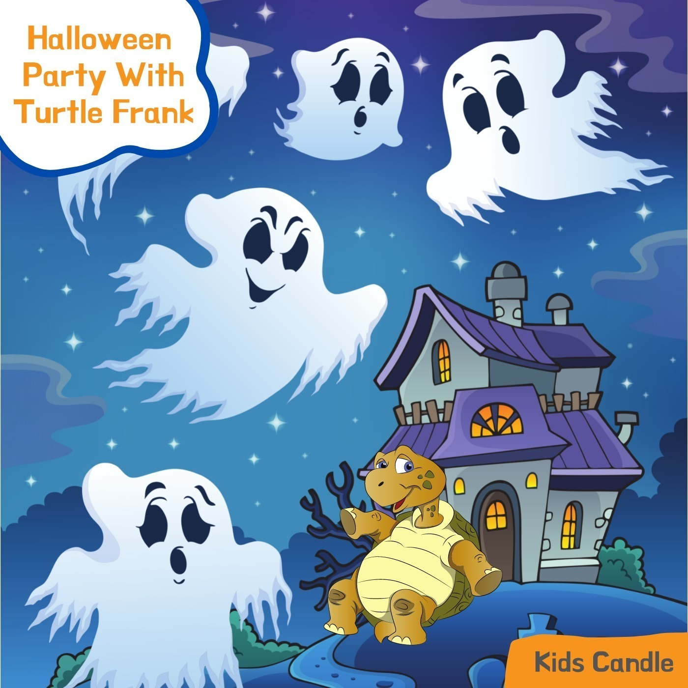 Halloween Party with Turtle Frank Story