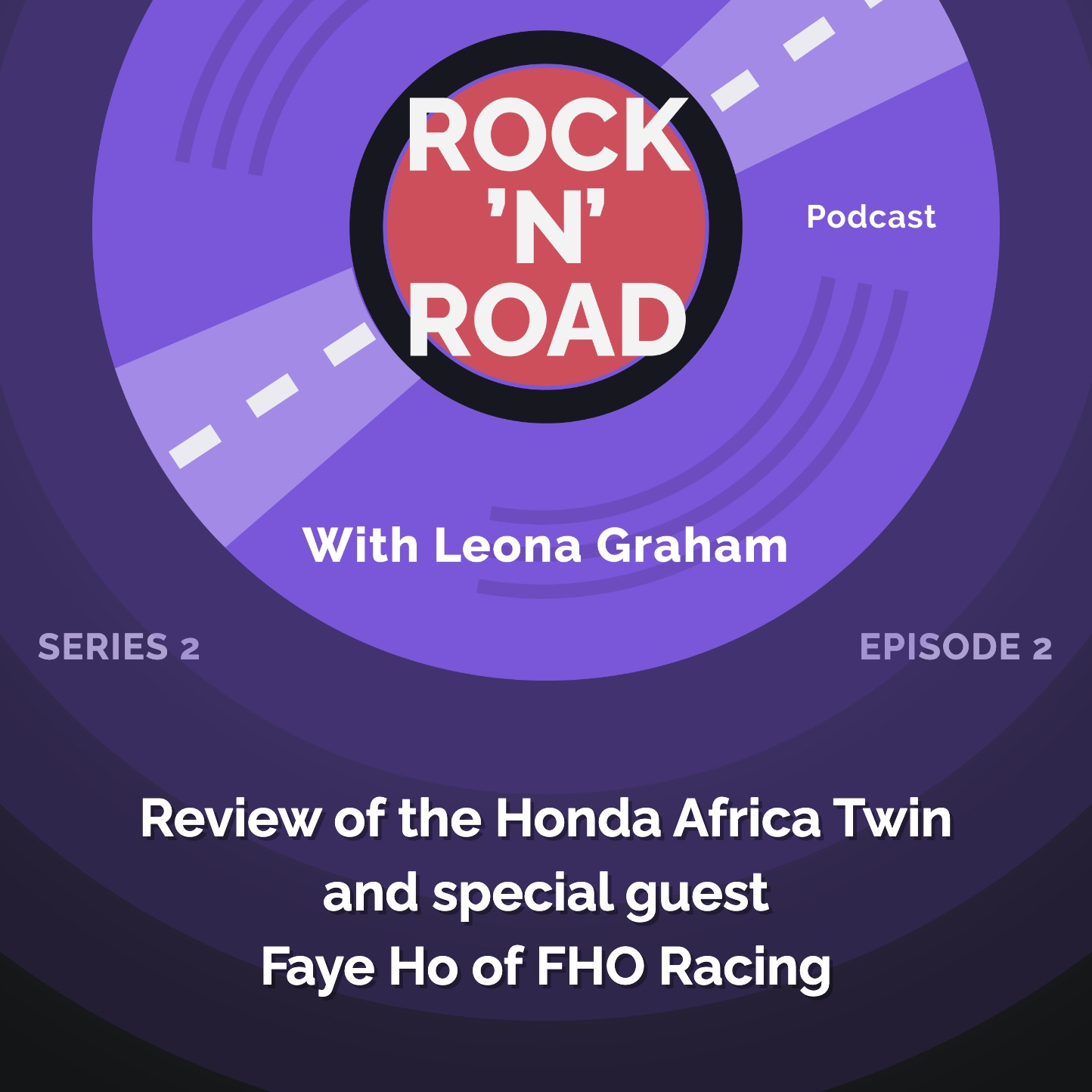 Series 2 Episode 2: Review of the Honda Africa Twin and special guest Faye Ho of FHO Racing