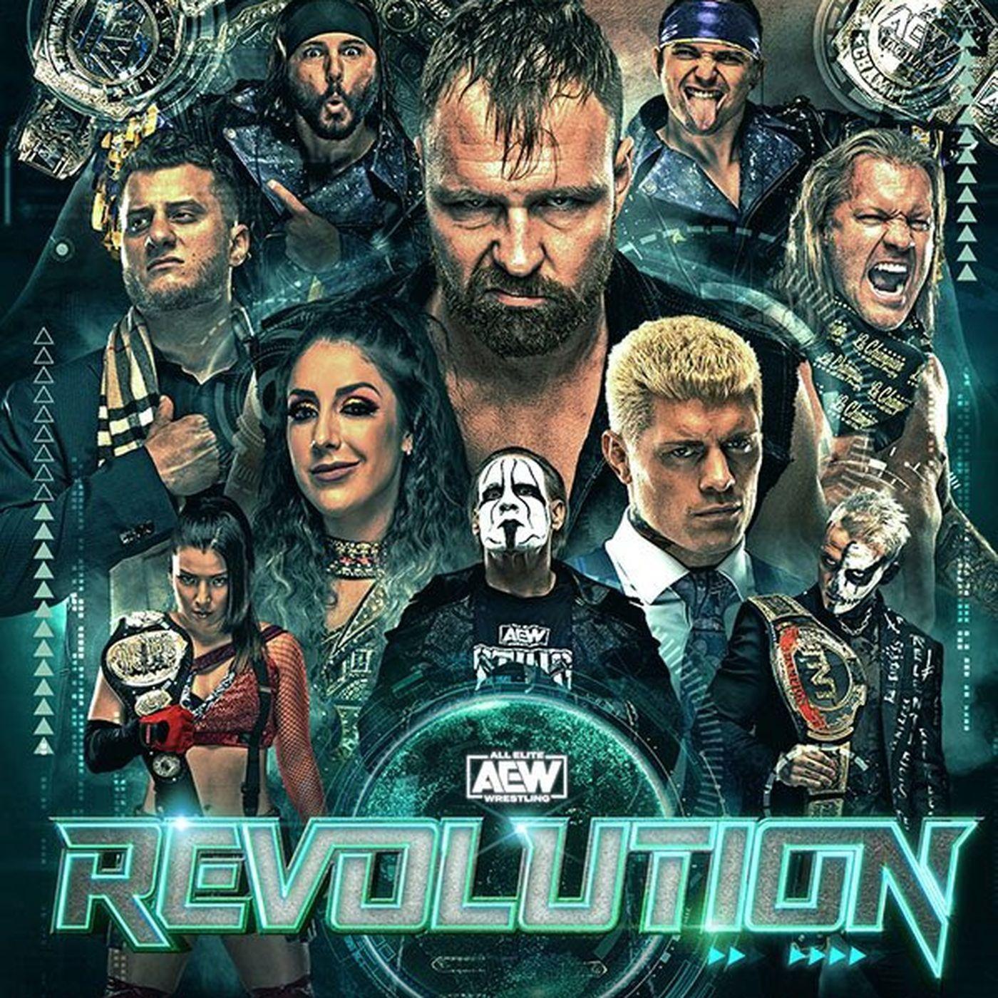 Wrestling Geeks Alliance - AEW Revolution Results Show
