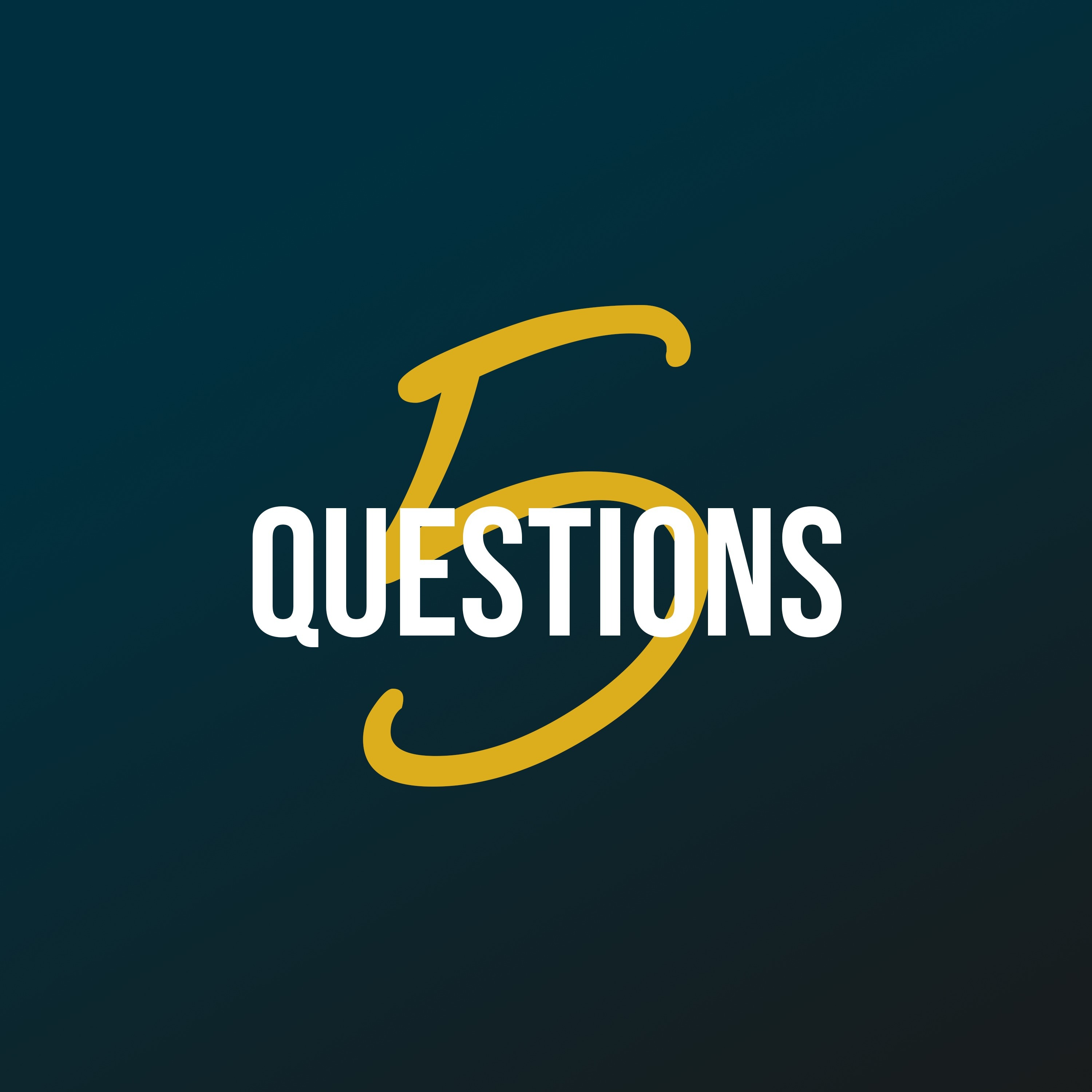 5 Questions podcast show image