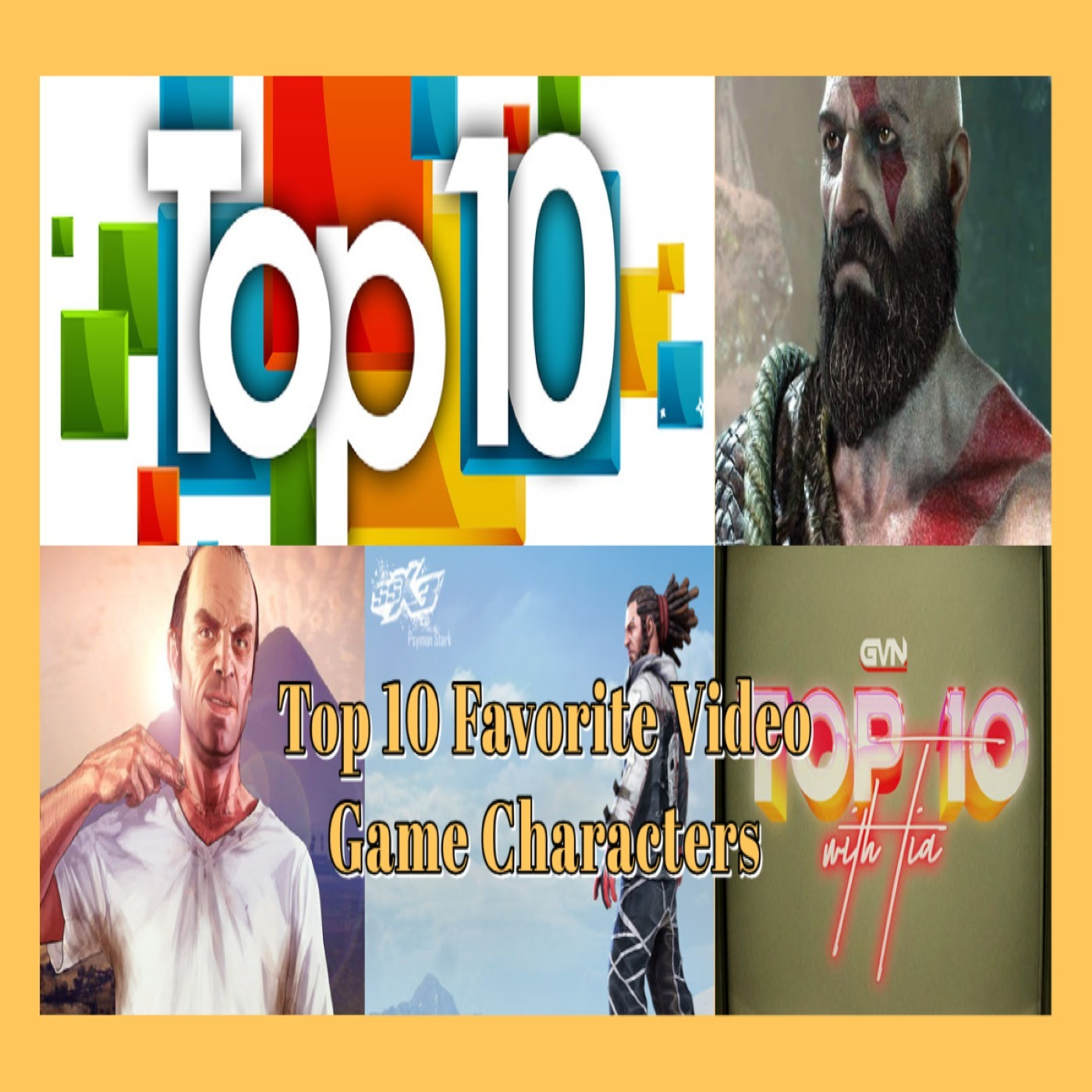GVN Presents: Top 10 Favorite Video Game Characters