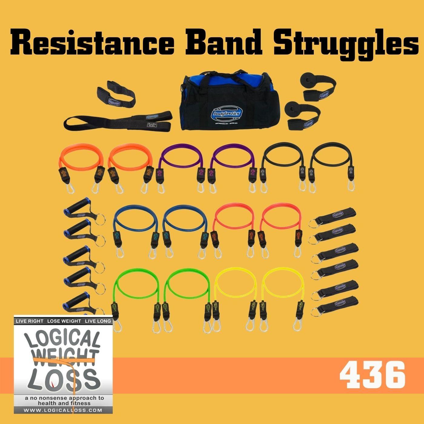 Resitance Bands Struggles