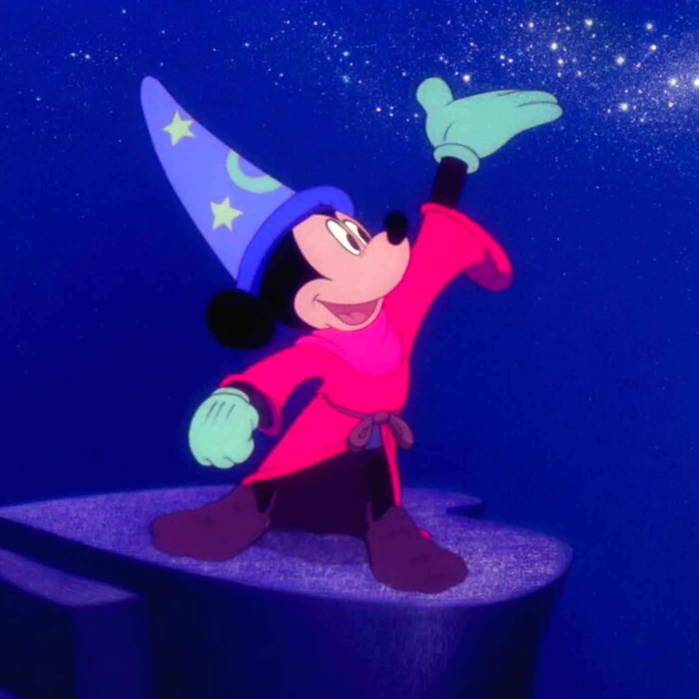 Mickey Mouse: The Sorcerer's Apprentice story