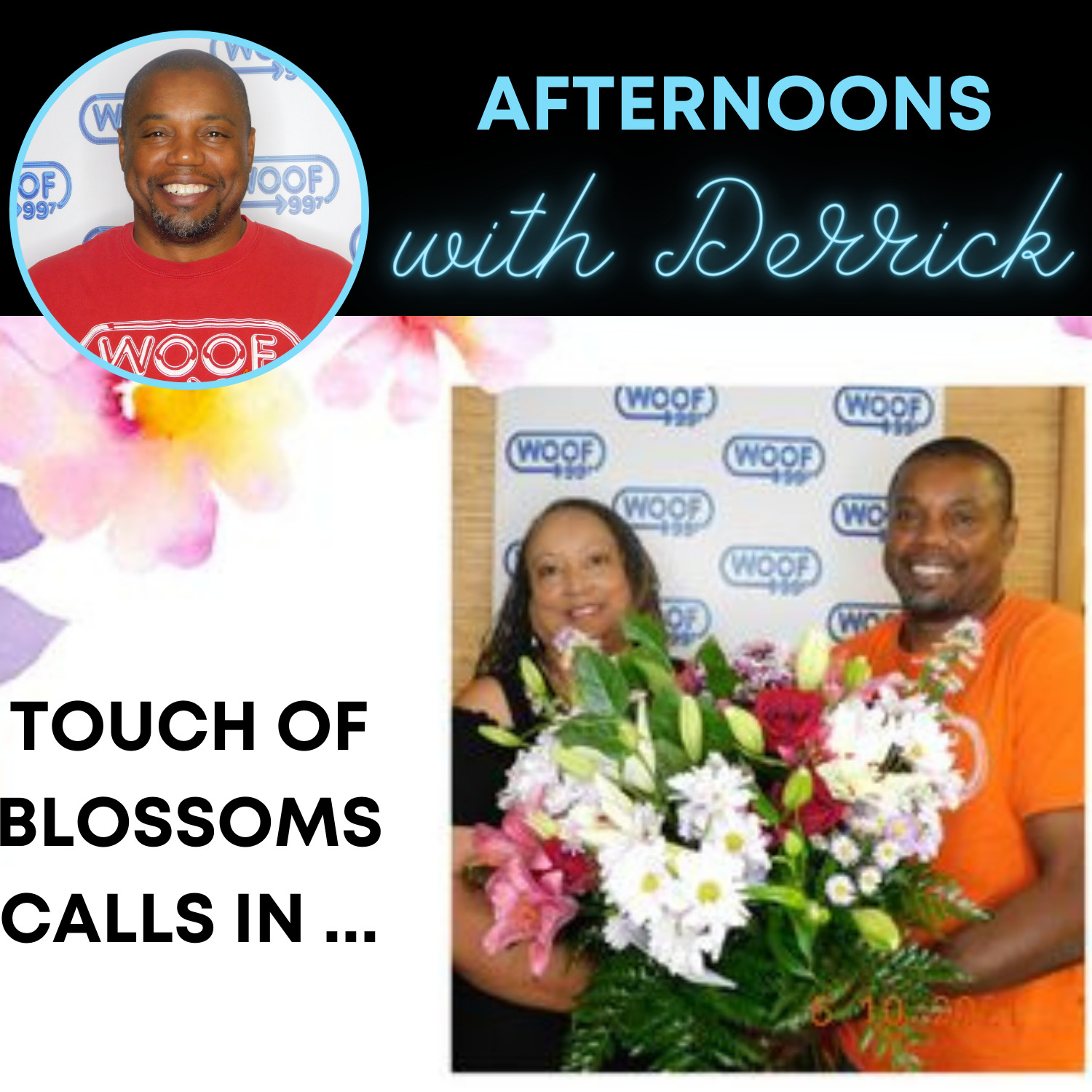 Touch of Blossoms calls in and…