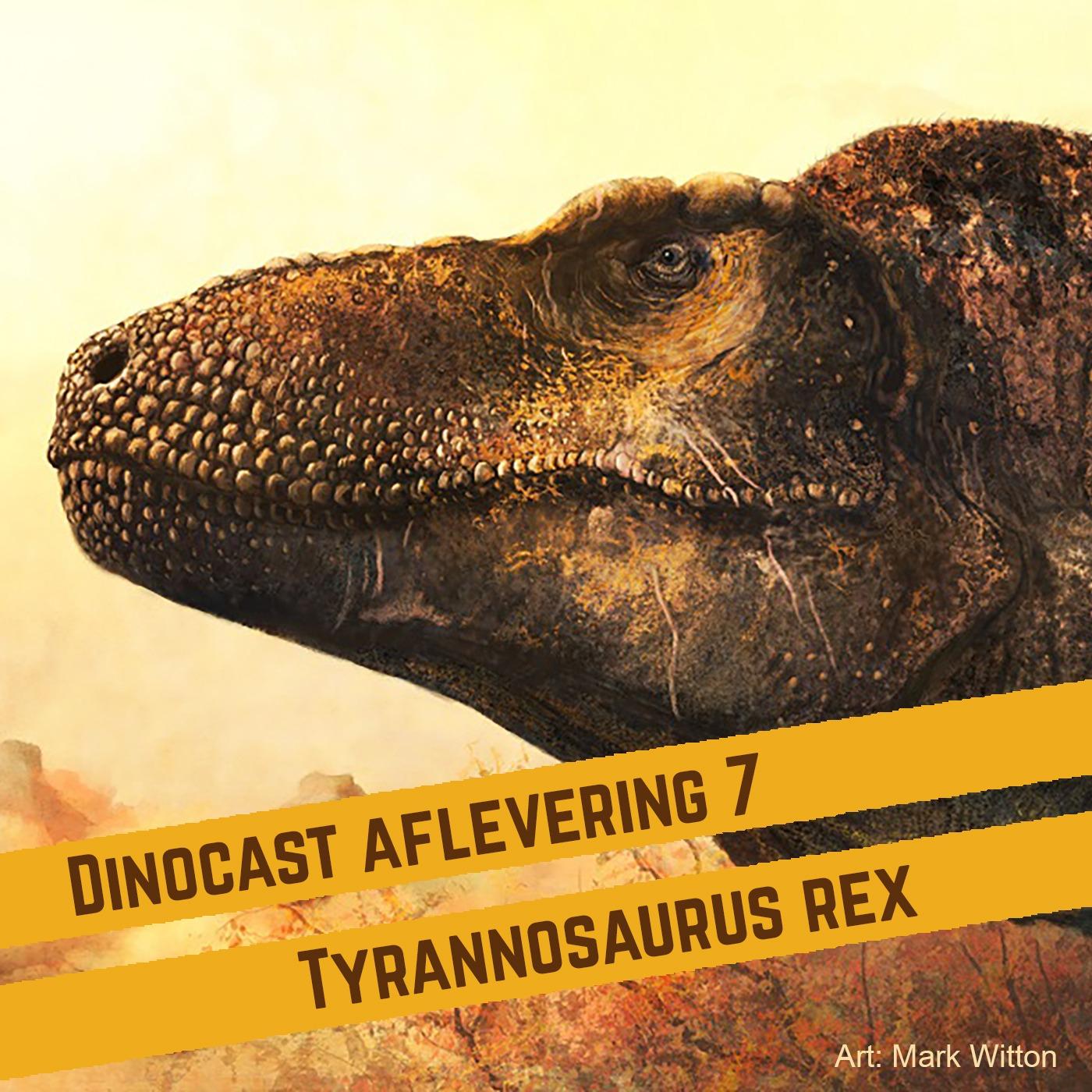 7. Tyrannosaurus rex: Koning(in) van het Krijt?