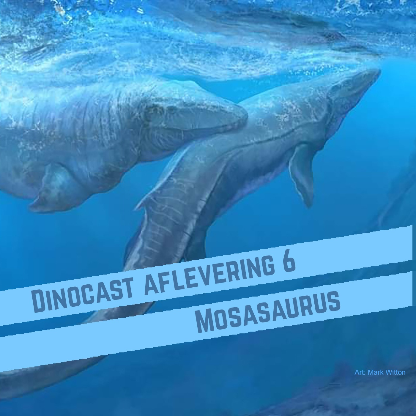 6. Mosasaurus: 'héél erg onaangenaam, dit dier'