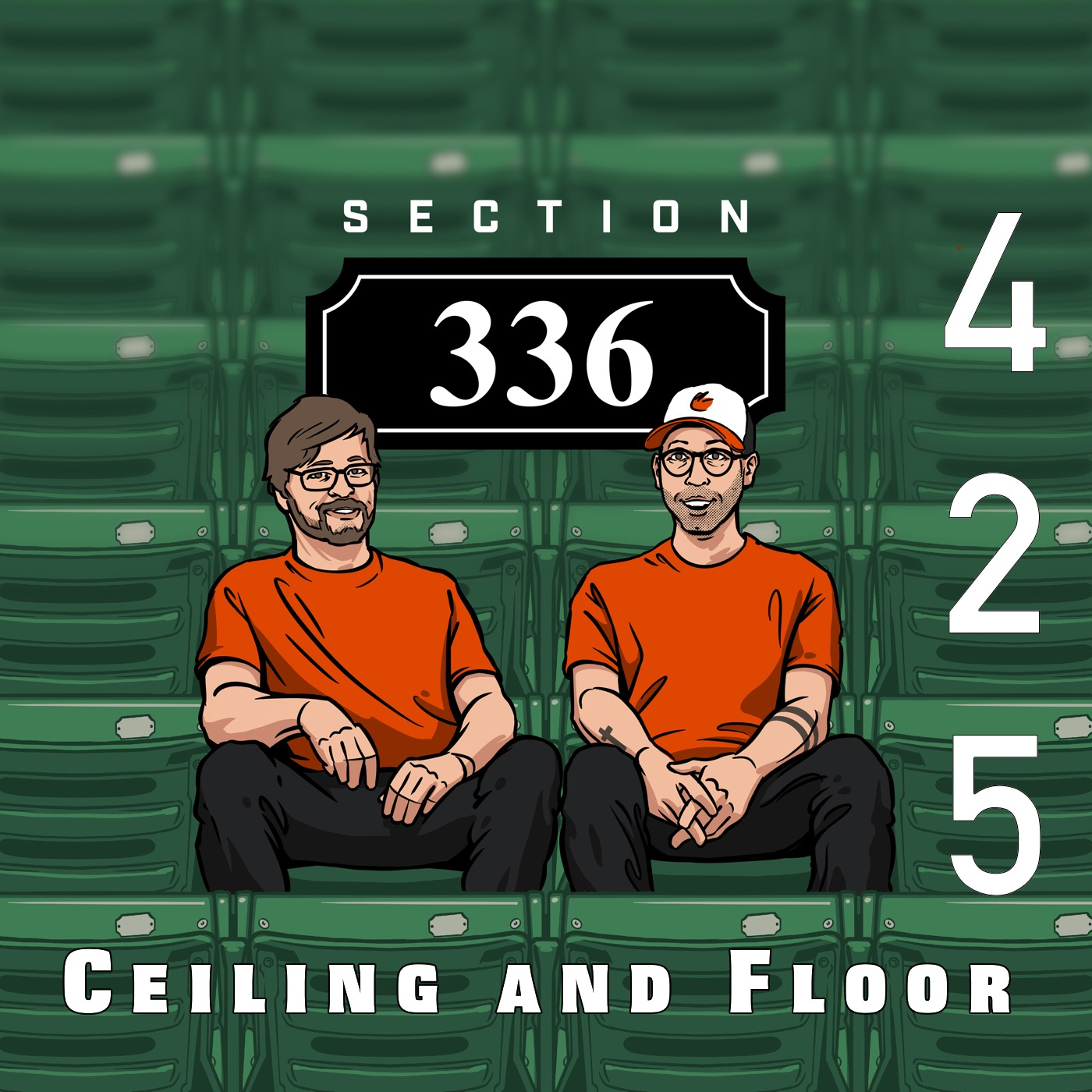Pod 425 : Ceiling and Floor