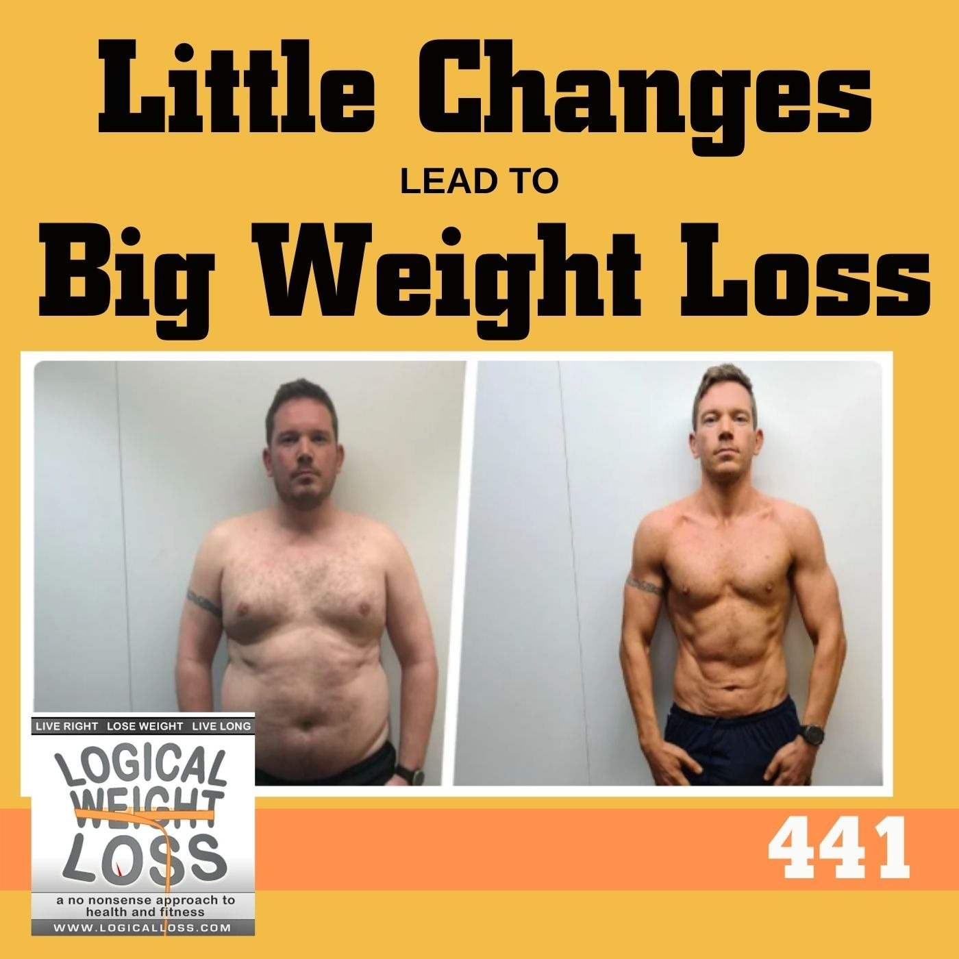 Little Changes Lead To Big Weight Loss